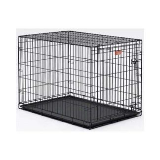 "Midwest Life Stages Single Door Dog Crate Black 42"" x 28"" x 31"""