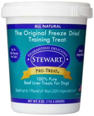 Miracle Corp Stewart Pro-Treat Freeze Dried Beef Liver 4 oz.