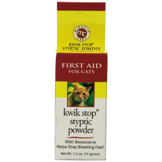 Miracle Corp Kwik-Stop Styptic Powder for Cats 0.5 ounces