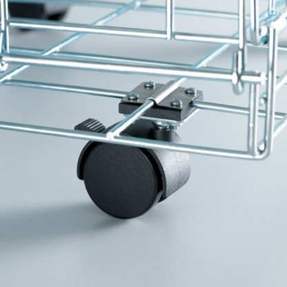 Midwest Universal Crate Casters 2 pack Black