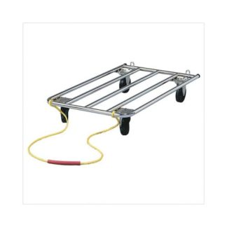 "Midwest Tubular Crate Dolly  Steel 42"" x 24"""