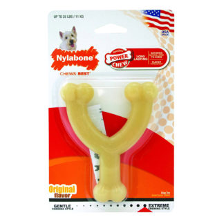 "Nylabone Dura Chew Wishbone Dog Chew 4.5"" x 3.8"" x 1"""