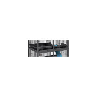 """Midwest Nation Accessory Upper Scatter Guard Black 34.5"""" x 22.75"""" x 4"""""""