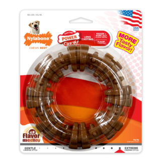 Nylabone Power Chew Textured Ring Souper