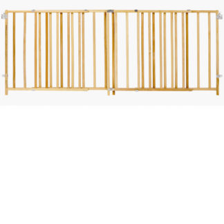 "North States Extra-Wide Swing Pet Gate Wood 60"" - 103"" x 27"""