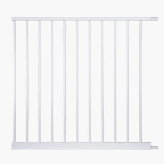 "North States Auto-Close Gate 11 Bar Extension White 31.25"" x 30"""