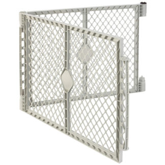"North States Superyard XT Pet Gate Extension Kit 2 panel White 30"" x 26"""