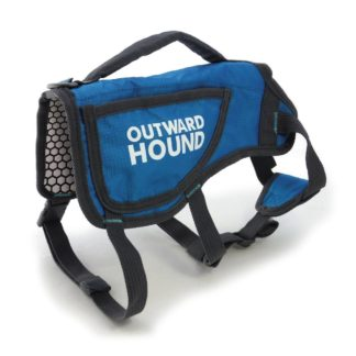 Outward Hound Dog ThermoVest Small Blue