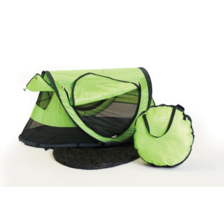 "Kidco PeaPod Plus Travel Bed Green 52.5"" x 34"" x 22"""
