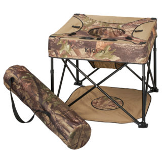 "Kidco GoPod Travel Activity Seat Camo 24"" x 24"" x 19.5"""