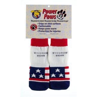 "Woodrow Wear Power Paws Advanced Large American Flag 2.38"" - 2.75"" x 2.38"" - 2.75"""