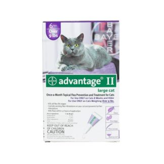 Advantage Flea Control for Cats and Kittens Over 9 lbs 6 Month Supply