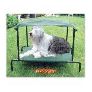 "Puppywalk Breezy Bed Outdoor Dog Bed Green 28"" x 20"" x 25"""