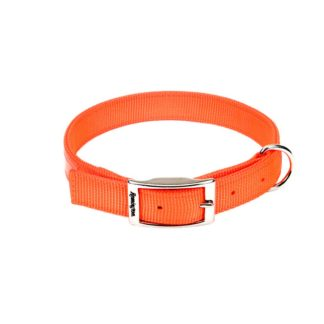 "Remington Double-Ply Reflective Hound Dog Collar Orange 22"" x 1"" x 0.2"""