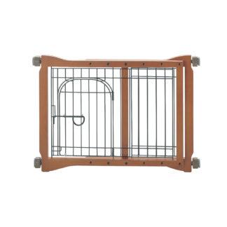 "Richell The Pet Sitter Pressure Mounted Gate Autumn Matte 28.3"" - 41.3"" x 2"" x 20.9"""