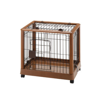 "Richell Mobile Pet Pen 640 Small Autumn Matte 25.2"" x 18.1"" x 22.4"""