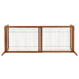 "Richell Freestanding Pet Gate HL Autumn Matte 39.4"" - 70.9"" x 23.6"" x 27.6"""