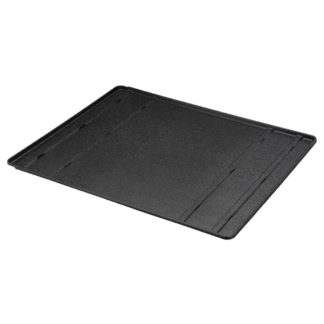 "Richell Convertible Floor Tray Black 41.3"" - 79.9"" x 33.9"" x 0.8"""