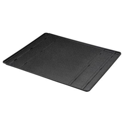 "Richell Convertible Floor Tray Black 41.3"" - 79.9"" x 33.9"" x 0.8"""
