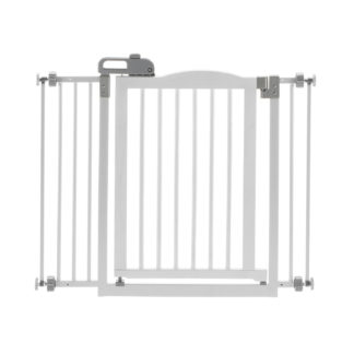 """Richell One-Touch Pressure Pet Gate II White 32.1"""" - 36.4"""" x 2"""" x 30.5"""""""