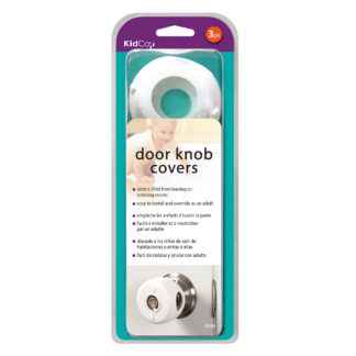 Kidco Door Knob Covers 3 pack White