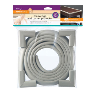 Kidco Foam Edge and Four Corner Protectors Gray