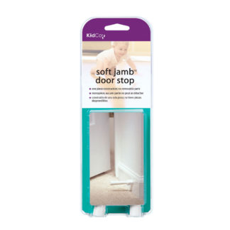 Kidco Soft Jamb Door Stop 3 pack White