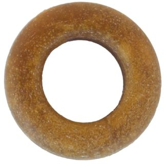 "Starmark Dog Edible Chicken Treat Ring Brown 1.25"" x 1.25"" x 0.25"""