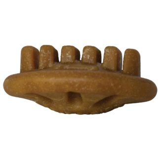 "Starmark Dog Everlasting Treat with Dental Ridges Chicken Small Brown 1.5"" x 1.5"" x 0.5"""
