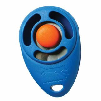 "Starmark Clicker Dog Trainer Blue 2.5"" x 1.5"" x 1"""