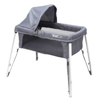 "Kidco DreamPod Travel Bassinet Gray 23"" x 41.5"" x 38"""